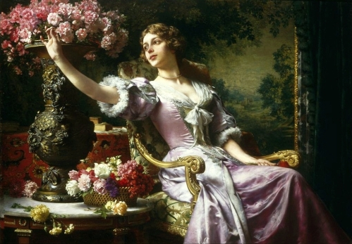 Czachórski_Lady_in_a_lilac_dress